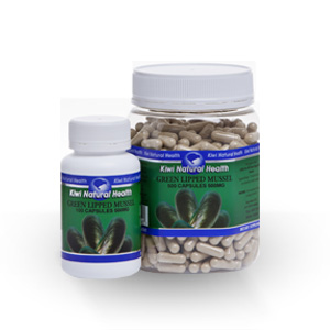 Kiwi Natural Health Green Lipped Mussel 500mg-0