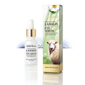 Wild Ferns Lanolin Eye Serum with Royal Jelly and Green Tea-0